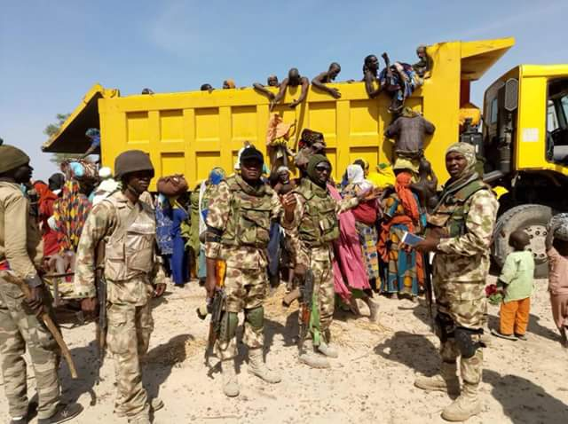 Photos Troops capture top Boko Haram commander, rescue 212 hostages