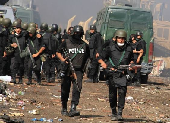 Egyptian Police, security forces