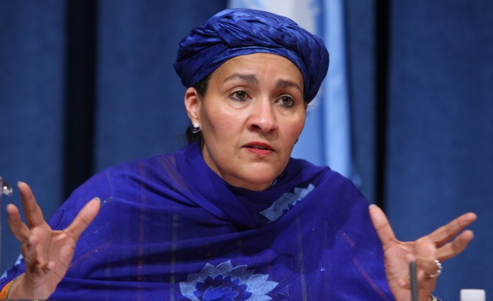 Amina Mohammed speaks on $300 million Scandal