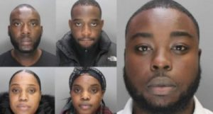 London court sentence five Nigerians to jail over telephone banking fraud
