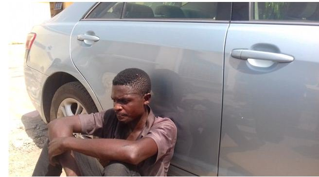 Driver Of Lagos Stolen Vehicle Arrested