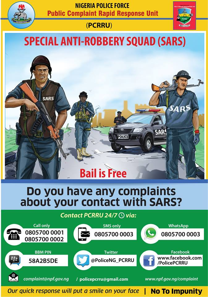 Do You Have Any Complaints About Your Contact With The SARS?