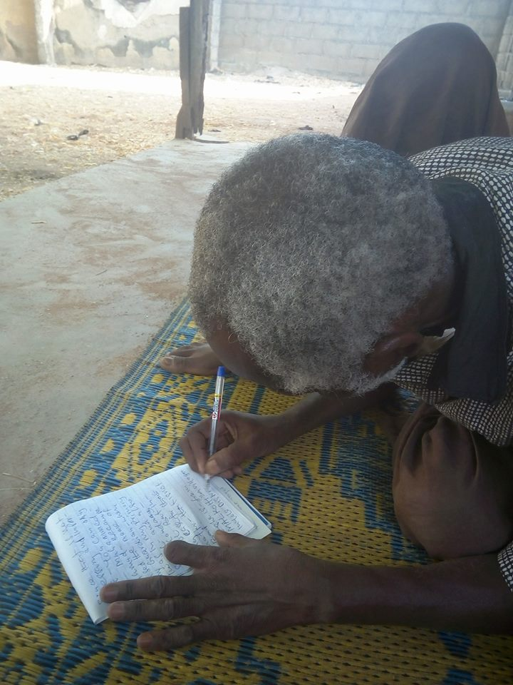 Mentally Challenged Man Helps Students To Solve Their Assignments In Adamawa1