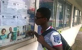 Admission List Notice Board