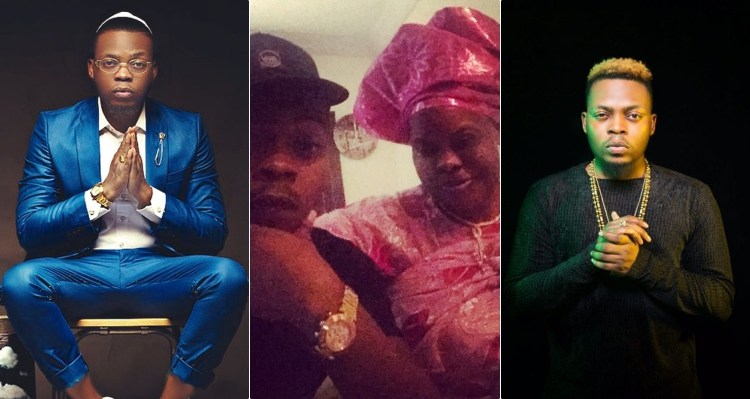 Olamide is grateful for your prayers as he mourns his late mum