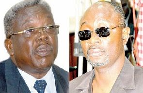 Woyome floors Justice Apau in court