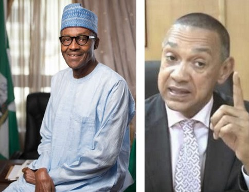 Image result for Ben Bruce mocks Buhari