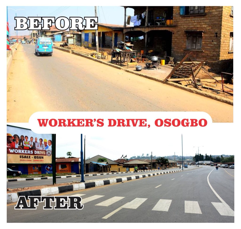 Osun State Before Aregbesola And During Aregbesola