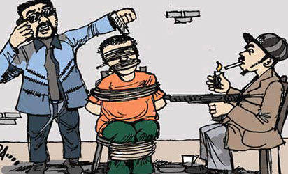 Kidnappers Kidnap Syndicate Crime