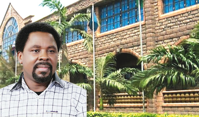 TB Joshua the synagogue church of all nations