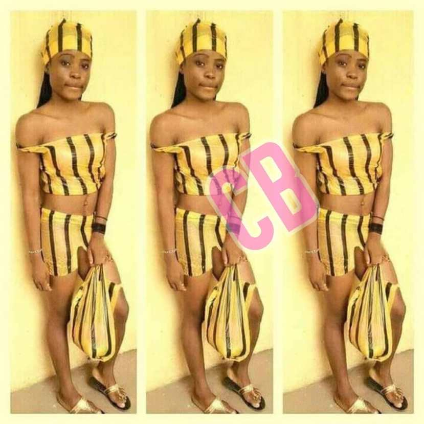 Check Out How This Lady Rocked Nylon Bag Inspired Outfit (Photos)