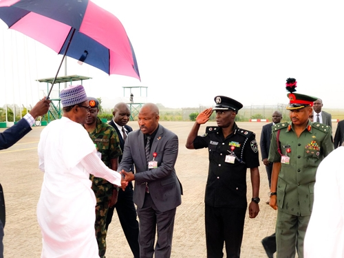 apc buhari departs Travel