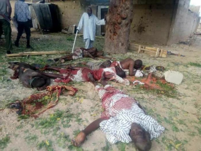 Bomb Many Worshipers Dead As Suicide Bombers Invade Mosque In Borno (Graphic Photos)