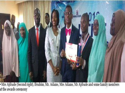 Honour for 16-year old who broke college records with 343 JAMB score