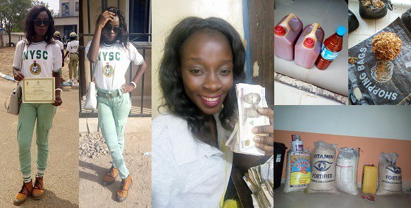 NYSC Corps Member Goes Into General Trading During Her Service Year; Makes Over N200k