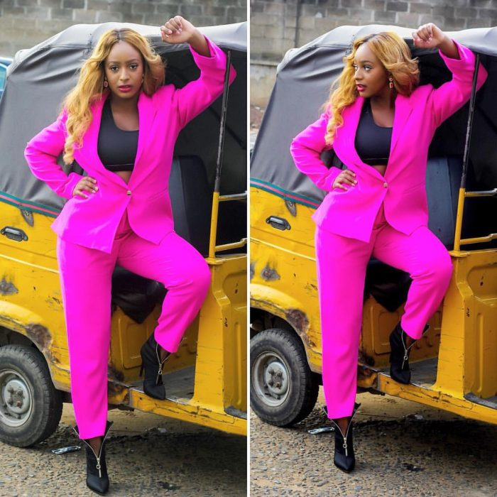 Sultry Billionaire's Daughter, DJ Cuppy Poses With Keke Napep (Photo)