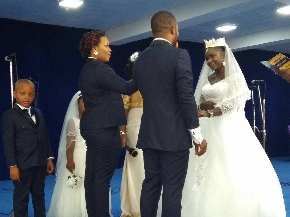 Lady Serves As Best Man At A Wedding Ceremony In Bayelsa State. Photos