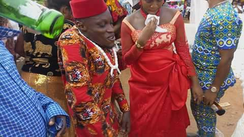 Physically Challenged Man Marries His Pregnant Bride (Photos)
