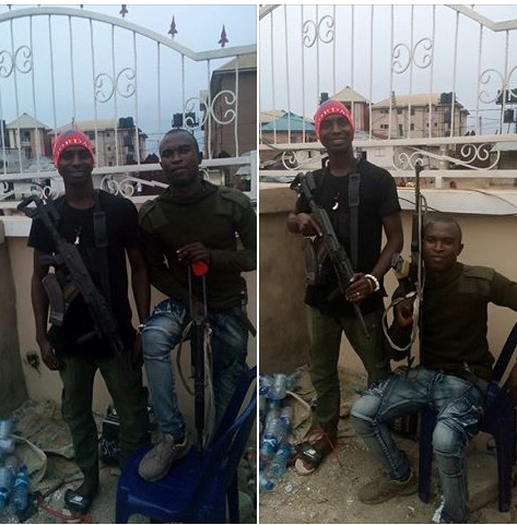 See How These Policemen Reacted To The Deaths Of Their Colleagues Killed In Offa