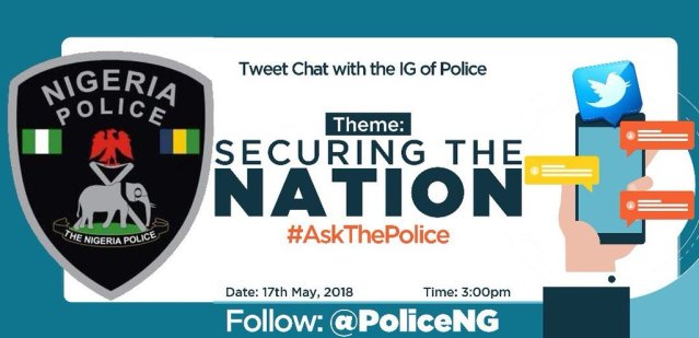 Police Securing The Nation