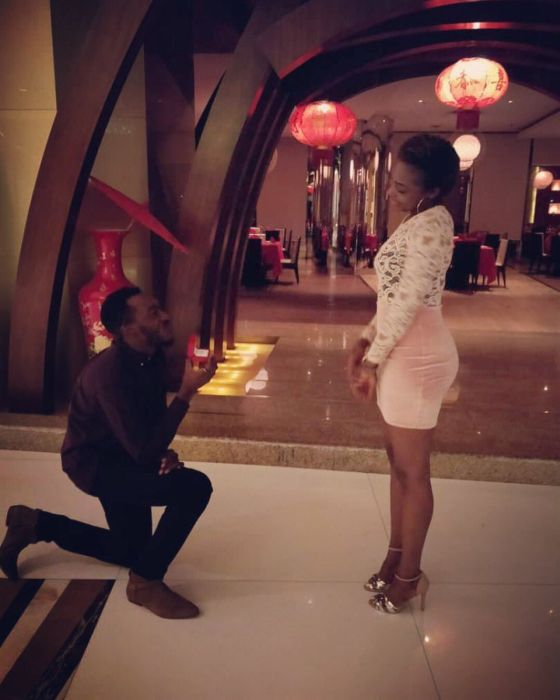 Ex-EFCC Hand Proposed To His Love