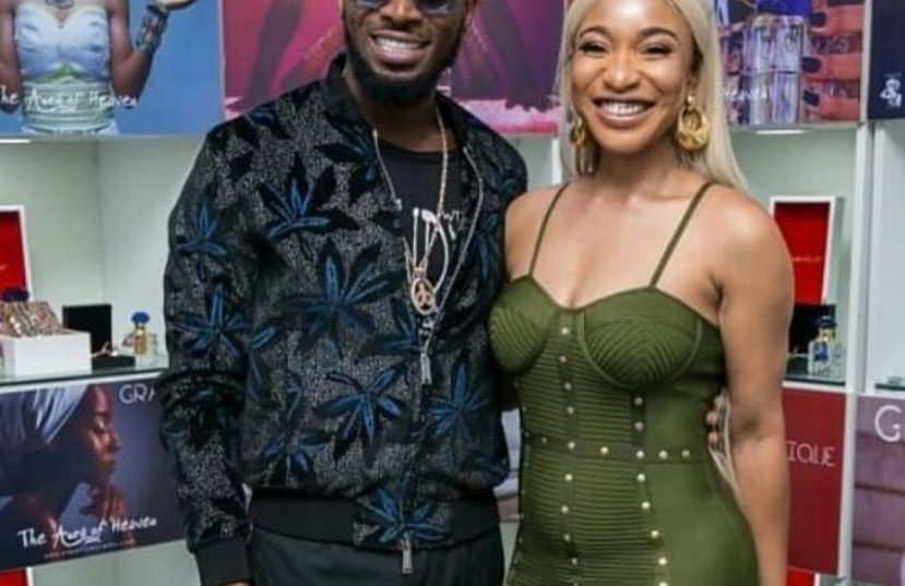 Tonto Dikeh and Dbanj reunite