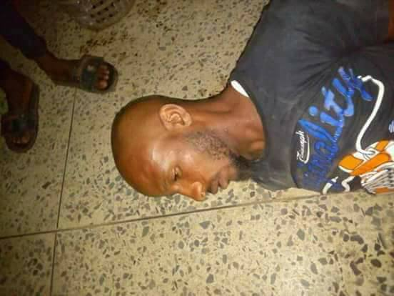 Robber Caught After Disguising As A Sick Patient At A Hospital In Kaduna (Photos)