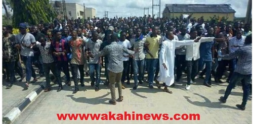 Student Protest Campus Gist