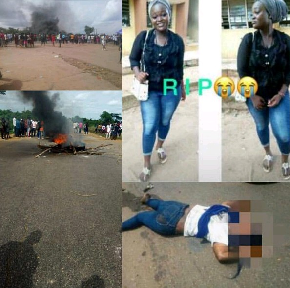 TASUED Student Crushed To Death On Her Way To School (Graphic Photos)