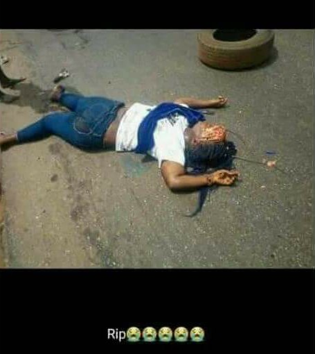TASUED Student Crushed To Death On Her Way To School (Graphic Photos)1