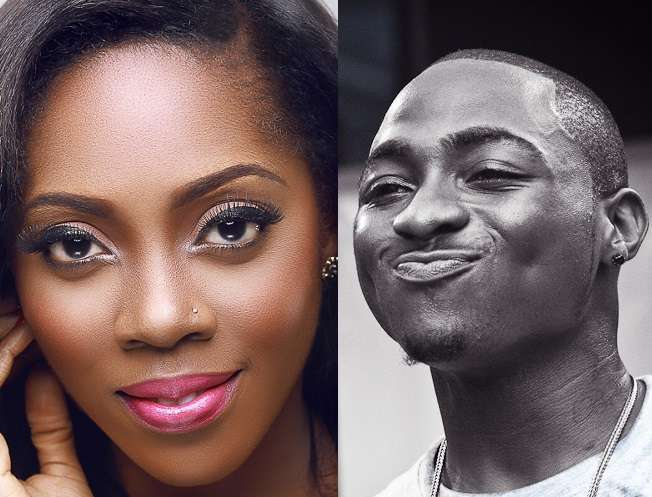 Davido and Tiwa Savage
