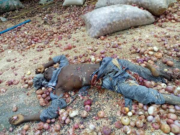 Truck Carrying Onions Had Accident In Koto, Kogi, Many Injured, Dead (Graphic)