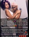 """""""I'm So Happy To Be Sharing A Baby Daddy With My Bestie"""" – Lady Says (Photo)"""