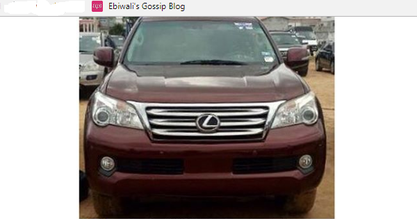 Man Calls Out Customs Officers For Seizing The Lexus Jeep He Bought