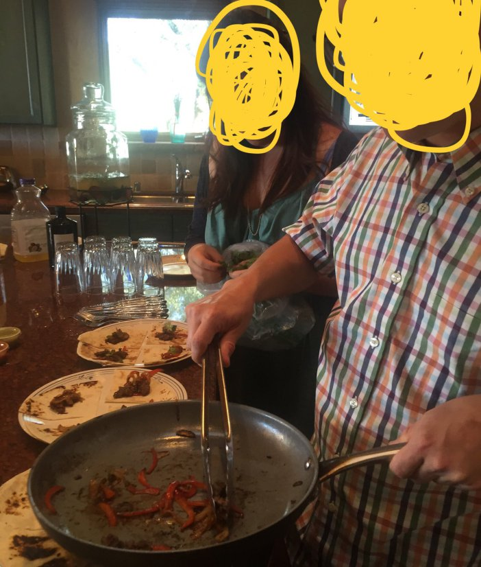 Man Serves His Amputated Foot To Friends For Dinner (Photos)