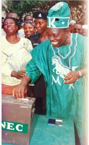 MKO Abiola June 12, 1993 Election - All The Television Drama And Fireworks (Videos)