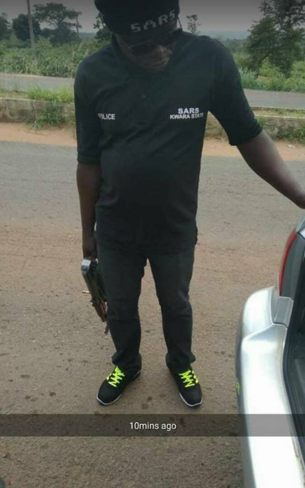 SARS Officers Harass Students During Stop And Search Operation. Photos