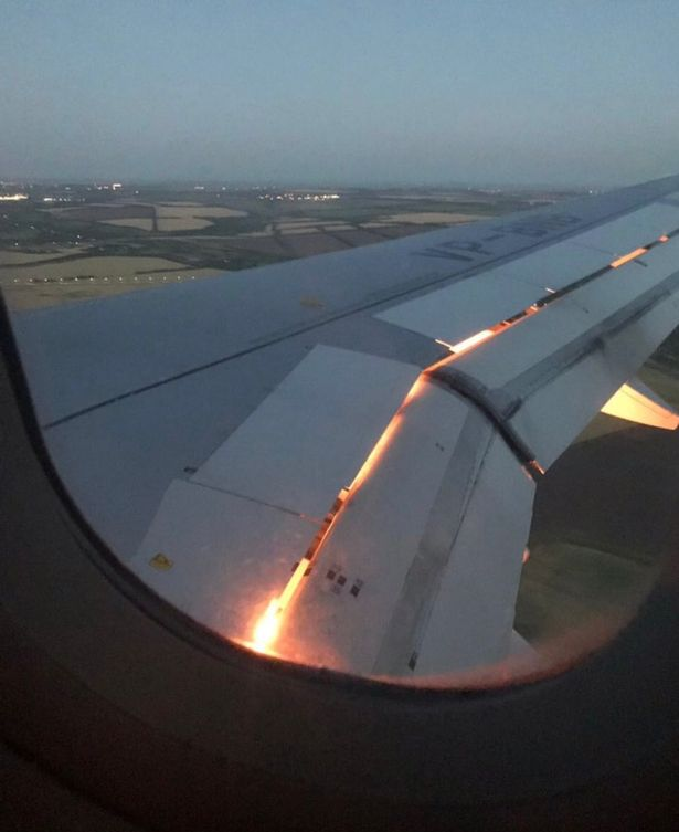 Saudi Arabia's Team Plane Catches Fire In Mid Air (World Cup 2018)