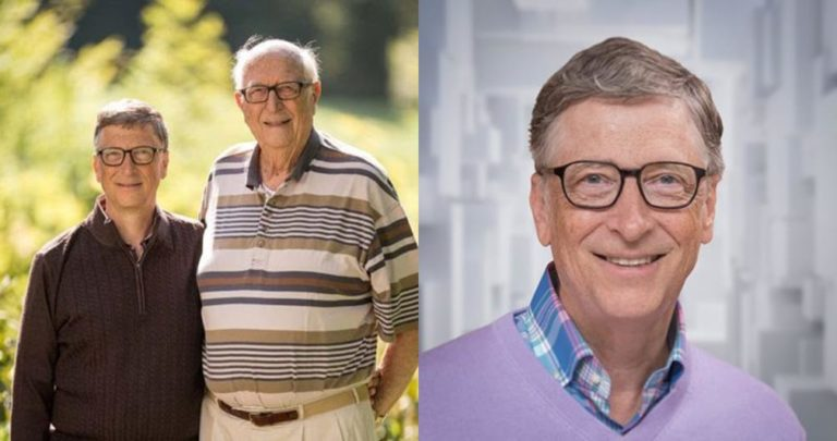 Bill Gates celebrates his dad on Father's Day
