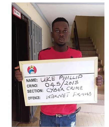 Yahoo Boy Arrested And Jailed Over N150k Fraud (Photo)