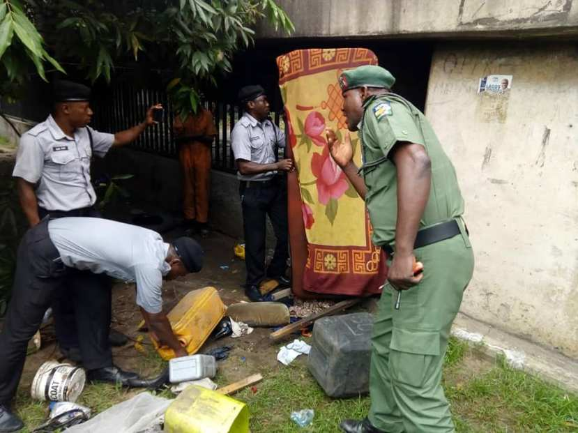 Ritualist Den Uncovered Under Bridge Near Lagos