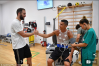 Cristiano Ronaldo Meets With Juventus Teammates On First Day Of Training