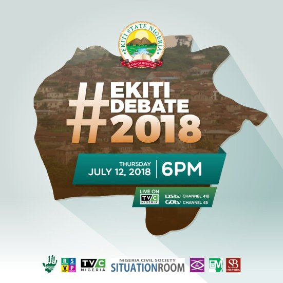 Ekiti Governorship Election Debate Holds On Thursday, July 12, 2018.