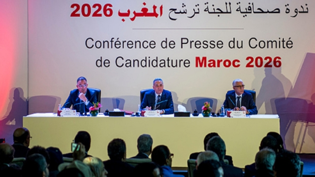 fouzi-lekjaa-moulay-hafid-elalamy-and-rachid-talbi-alami-morocco-2026-world-cup-bid-press-conference-casablanca-2018_1b8zs43mpnhv01ovasxa3r4he7