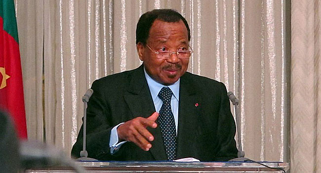 Cameroon President, Paul Biya Announces Bid For Seventh Term In Office