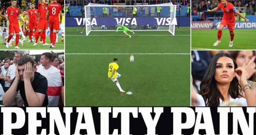 World Cup: England win 4-3 on penalties
