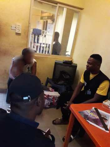 Woman Arrested By Police For Molesting 10-Year-Old Girl In Asaba. Photos1