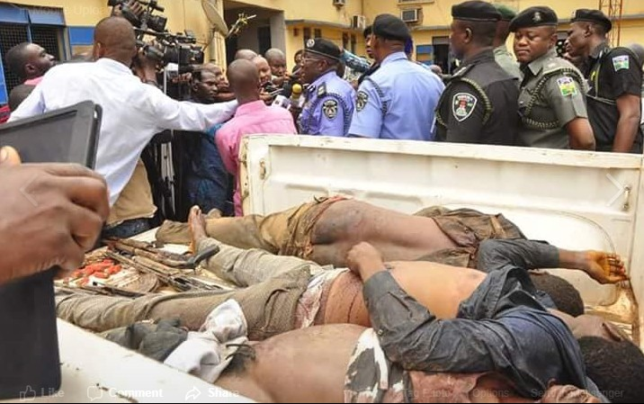 Police Kill Robbers Police Gun Down Armed Robbers Who Raided Bank In Edo