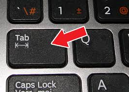 Tab Key Board
