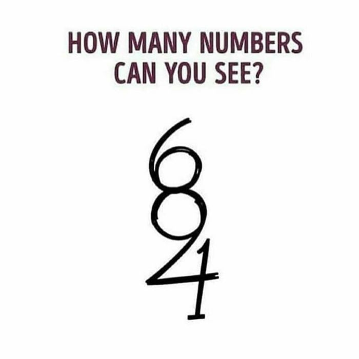 FREE EYE TEST!! How Many Numbers Can You See In This Photo?